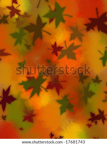 Fall Leaves - stock photo