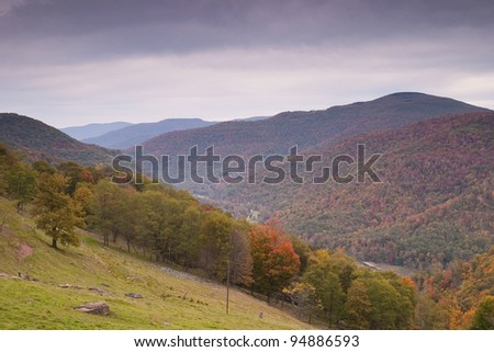 Fall Mountain Scenic - stock photo