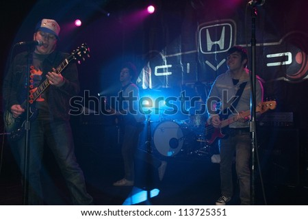 Fall Out Boy Performing Live American Honda Motor Co Inc Torrance CA