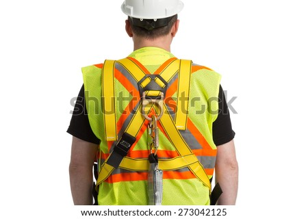 fall protection  - stock photo