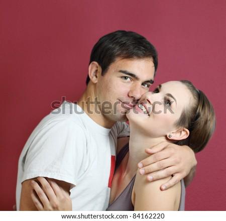 falling in love - stock photo