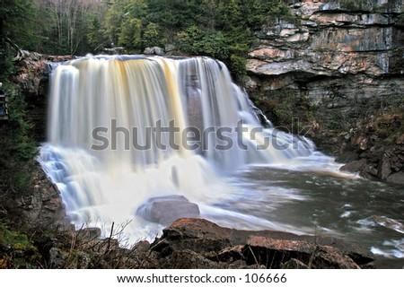 Falls - stock photo
