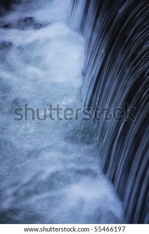 Falls river - stock photo