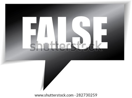 False speech bubbles black square template | business banner with symbol icon. - stock photo