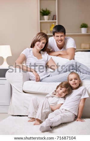 Families with children at home