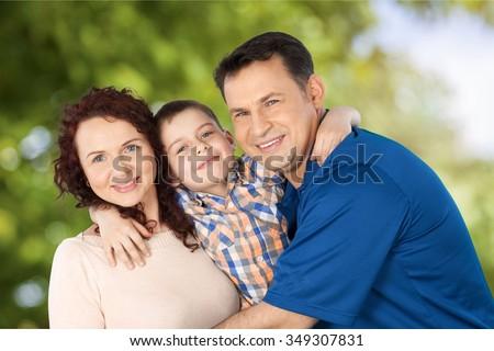 Family. - stock photo