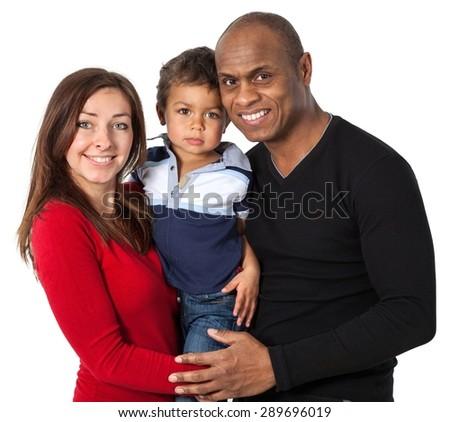 Family, Cheerful, Happiness. - stock photo