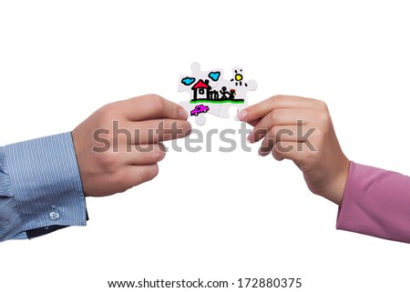 Family concept - stock photo