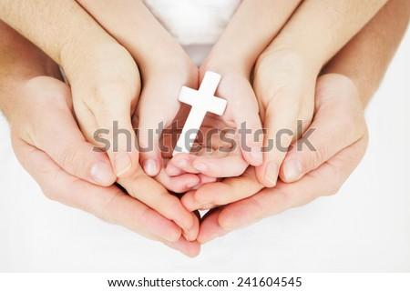 Family Faith - stock photo