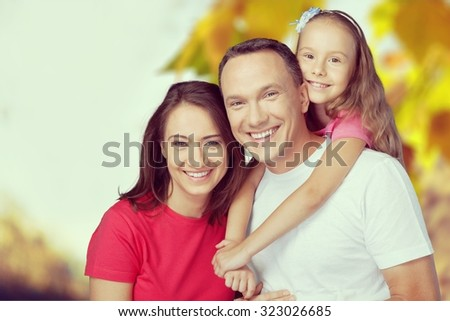 Family Happiness. - stock photo