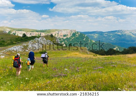 Family hikes in  Crimea mountains