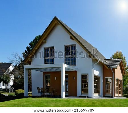 Family house - stock photo