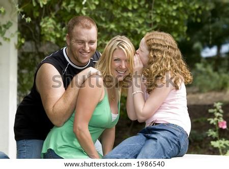 family life - stock photo