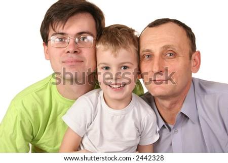 family male dynasty - stock photo
