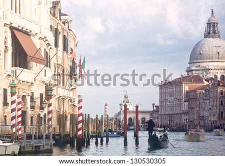 famous cities of Italy, Venice and the Grand Canal