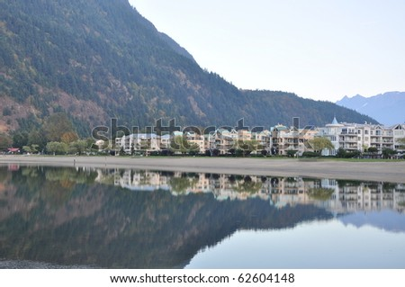 Famous Harrison Hot Springs lake view