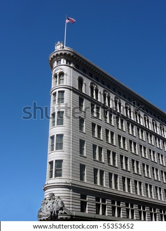 Famous Historic Broadway Building, Oakland, California - stock photo