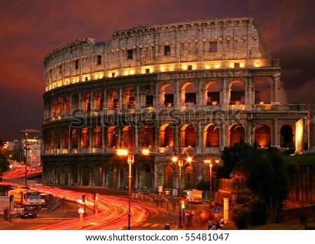 Famous Italian landmark - stock photo