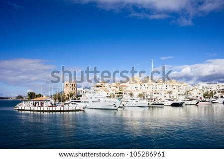 Marbella stock images royalty free images vectors for Puerto banus costa del sol