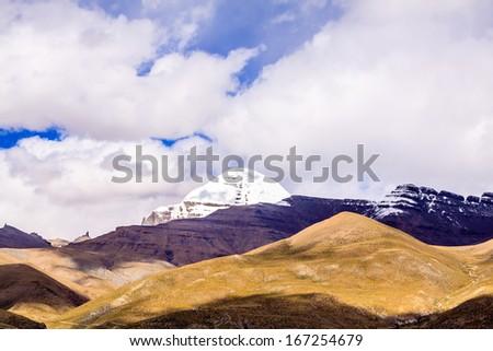 Famous mountain - stock photo