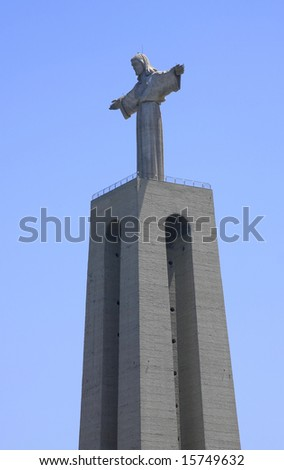 Famous statue of the Christ the Reedemer, in Lisbon.