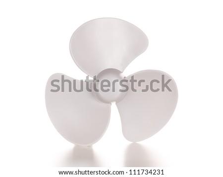 Fan. Ventilator - stock photo
