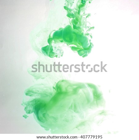 Fancy Dream Cloud of ink in water soft focus