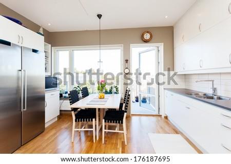 fancy interior  - stock photo