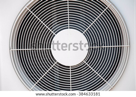 Fans, air conditioning
