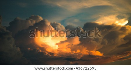 fantastic clouds