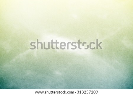 fantastic soft cloud and sky with grunge paper texture - stock photo