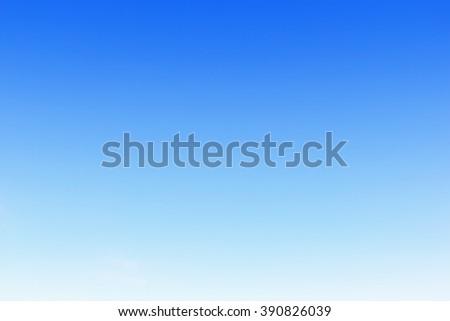 Fantastic soft white clouds against blue sky. No cloud. - stock photo