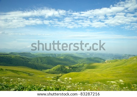 Fantastic valley - stock photo