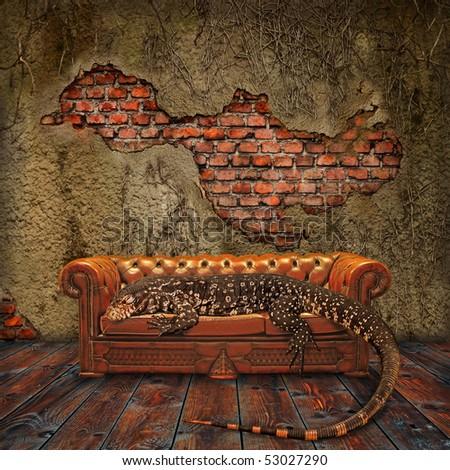 Fantasy Decadence - stock photo