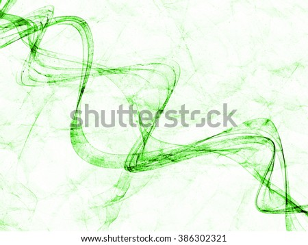fantasy green line weave gradient colored background grunge paper texture - stock photo