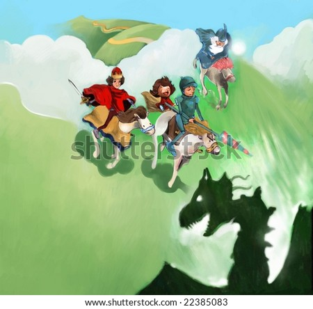 Fantasy (search the word nikos for more) - stock photo
