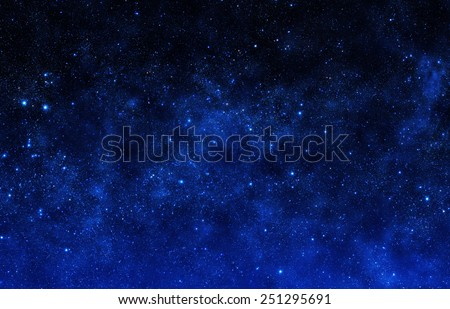 Fantasy Sky - Elements of this Image Furnished by NASA - stock photo