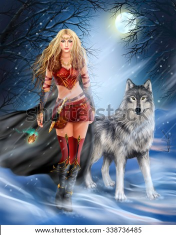 Warrior Princess Stock Images Royalty Free Images