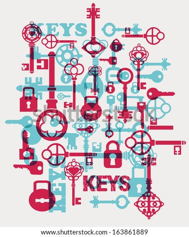 Fantasy with elements of keys and locks