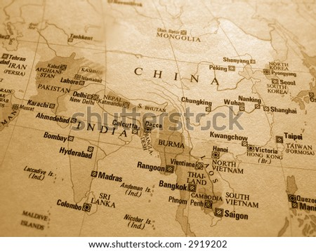 Far East - stock photo
