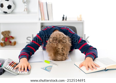 fare too much learning  - stock photo