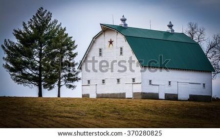 Farm Barn - stock photo