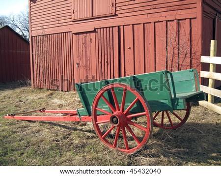 Farm Cargo Wagon - stock photo