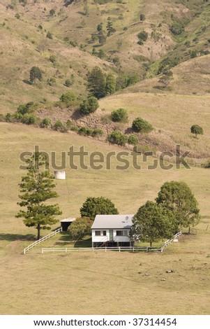 farm in Queensland (Australia) - stock photo