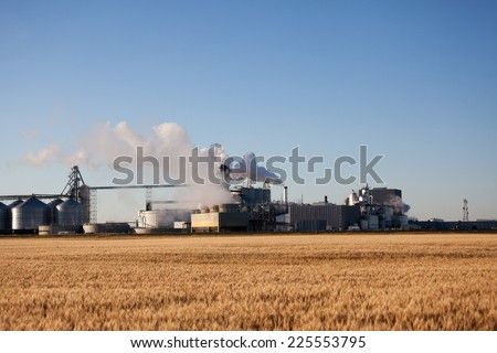 farm industry - stock photo