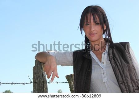 Farmer - stock photo