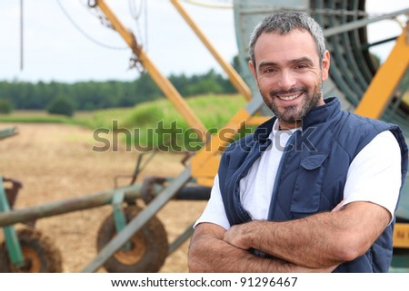 Farmer - stock photo