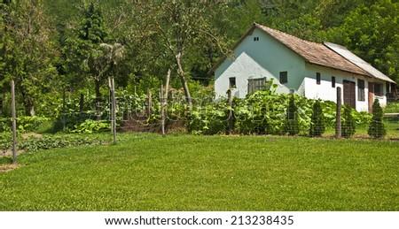 Farmhouse - stock photo