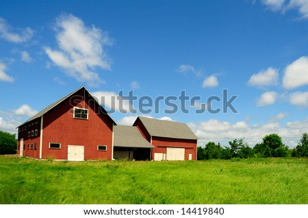 farmhouse in rural canada