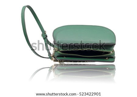 fashion bag isolated on white background. this had clipping path